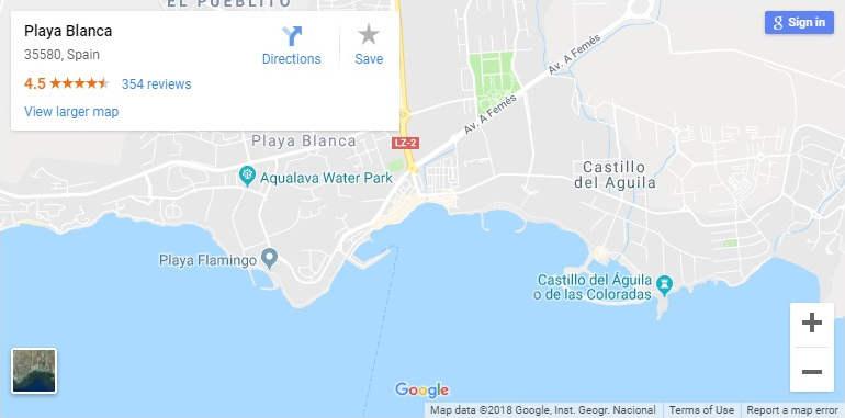 playa-blanca-google-map