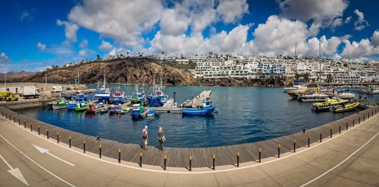 puerto-del-carmen-panoramic-view-of-old-town-harbour-docks-fishing-boats