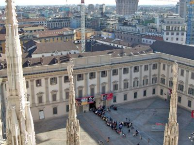 The Royal Palace of Milan