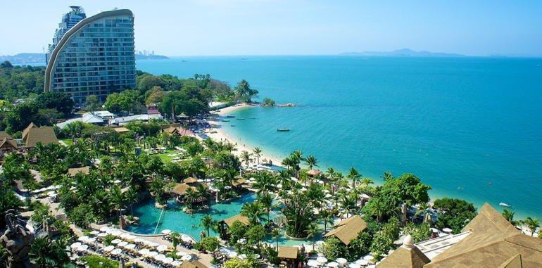 thailand-pattaya-lodging-centara-grand-mirage-hotel-aerial-view