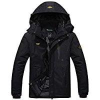 Winter men hooded jacket