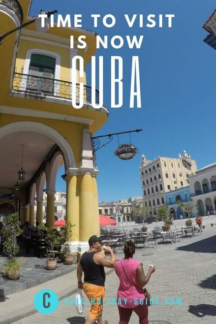 The stunning Plaza Vieja in Old Havana, Cuba